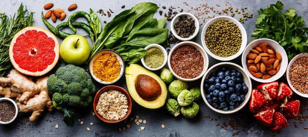 Healthy Food Healthy Hair